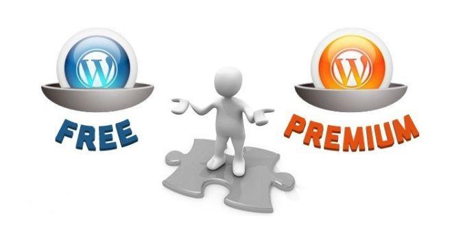 Lựa chọn Premium Theme thay vì Free Theme..