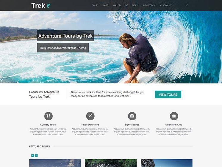 Chọn theme cho website du lịch cần thể hiện được thương hiệu.