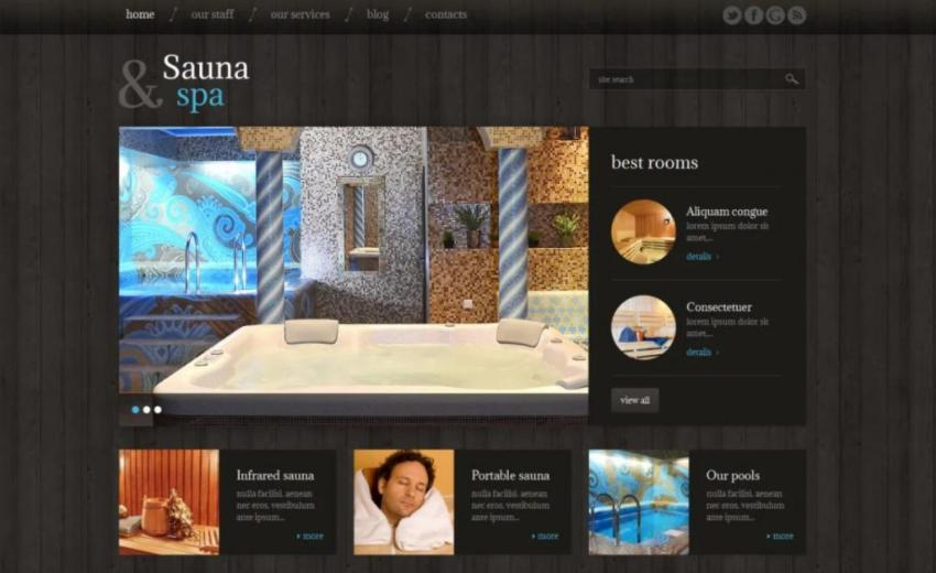 theme spa Sauna