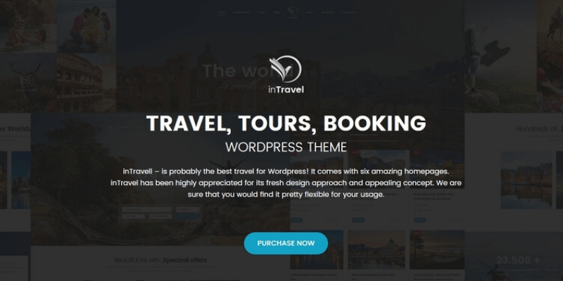 theme wordpress du lịch